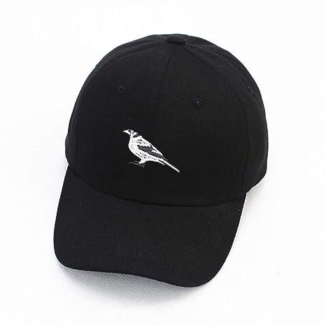 WORAI Bordado de Aves de Ocio Algodón Gorra de béisbol Ajustable ...