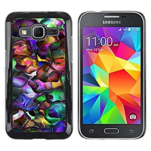 Stuss Case / Funda Carcasa protectora - Neon Colors Random Modern Art Wallpaper - Samsung Galaxy Core Prime SM-G360