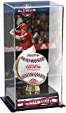 Sports Memorabilia Mike Trout Los Angeles Angels 2018 MLB All-Star Game Gold Glove Display Case with Image - Baseball Free Standing Display Cases