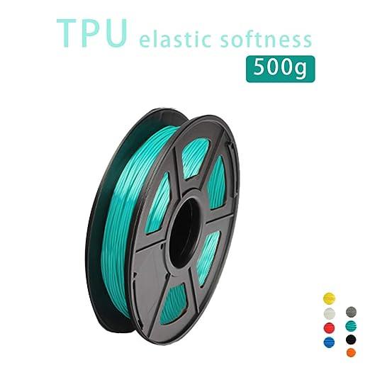 Impresora 3D Filamento TPU,Material De Impresión De Filamento,1.75 ...
