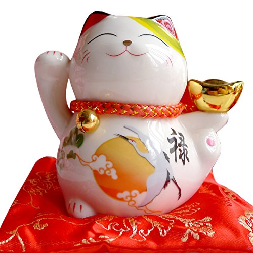 eki Neko Lucky Cat Coin Bank Style Cranes (Lucky Crane)