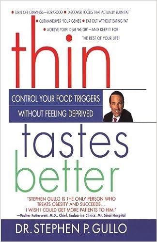 Book Thin Tastes Better by Stephen Gullo Ph.D. (1998-10-07)