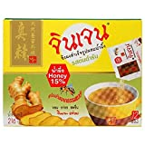 Gingen Instant Ginger with Honey Beverage (18 g. / 0.63 oz.x 12 Sachets)