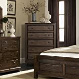 Coaster Home Furnishings 2335M Rustic Chest, Cocoa Brown