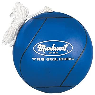 Markwort Official Tetherball (Royal Blue) : Tetherball Equipment : Sports & Outdoors