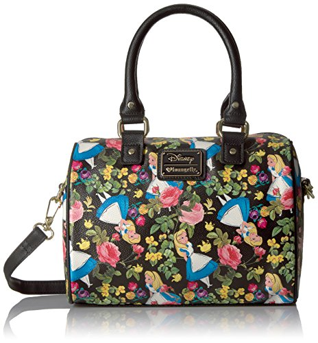 Loungefly Alice in Wonderland Floral Pebble Xbody Duffle ...