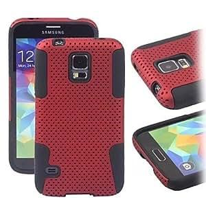 Samsung GX Teléfono Móvil Cobertor Posterior - Diseño Especial S5 i9600 (Multi-color, Silicona/TPU), Purple