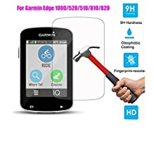 3 PCS Tempered Glass Film For Garmin Edge 1000/520/510/820/810