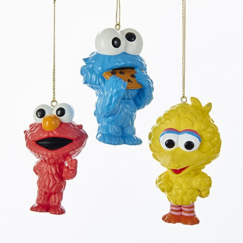 Kurt Adler SESAME STREET CUTIES ORNAMENT 3A