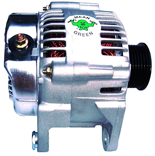 [Mean-Green MG1380 Premium Alternator: Jeep Cj/ Yj/ Tj/ Jk/ Wrangler/ Scrambler] (Heavy Duty Alternator Rotors)