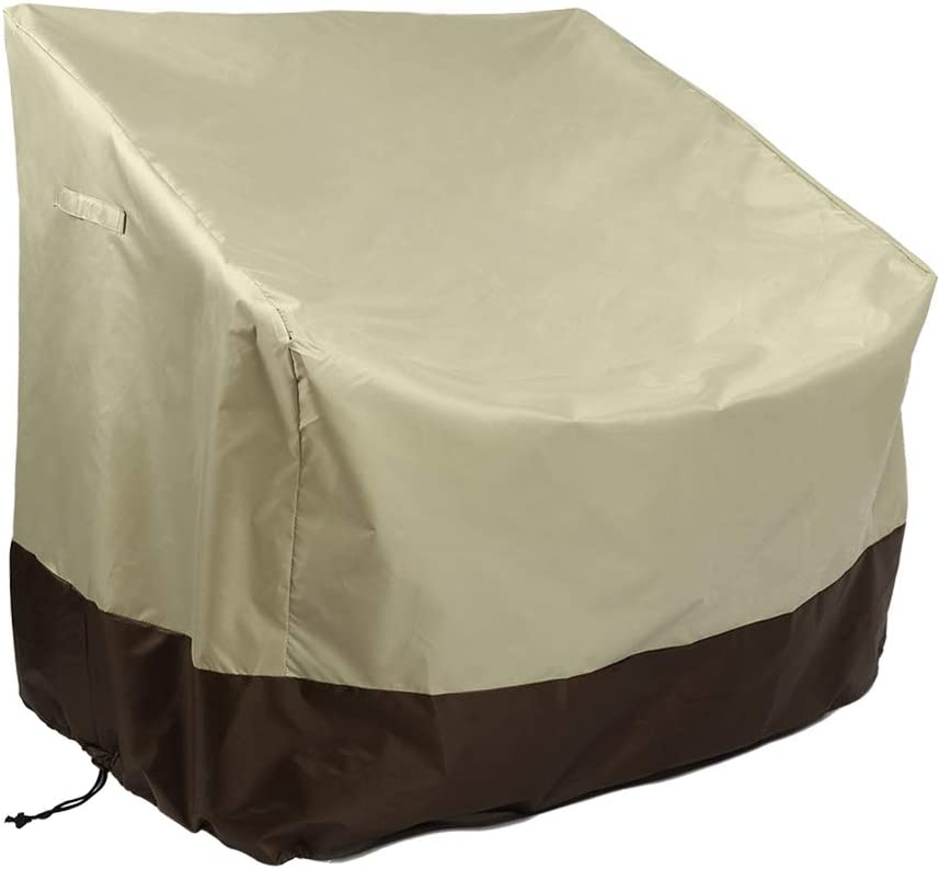 Classic Waterproof High-Back Chair Veranda Patio Outdoor Furniture Protector Cover Deep Seat Dust Cover Develoo Lounge Chair Cover