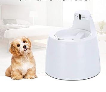 GH&YY Fuente de Agua Dulce para Gatos y Perros pequeños