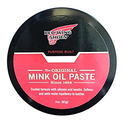 Amazon Com Red Wing Mink Oil 95160 Shoes