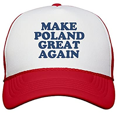 Make Poland Great Again Hat: Snapback Mesh Trucker Hat