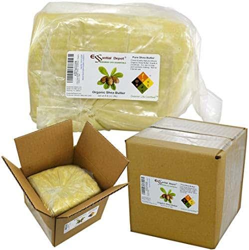 Shea Butter - Grade A - Unrefined - Organic - 5 lbs