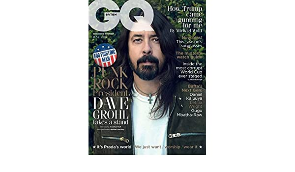 British GQ Magazine (June, 2018) Dave Grohl Cover: British GQ: Amazon.com: Books