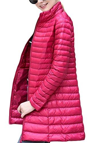 2 X Full Coat (Alion Women Packable Full-Zip Puffer Down Long Coats 2 X-S)