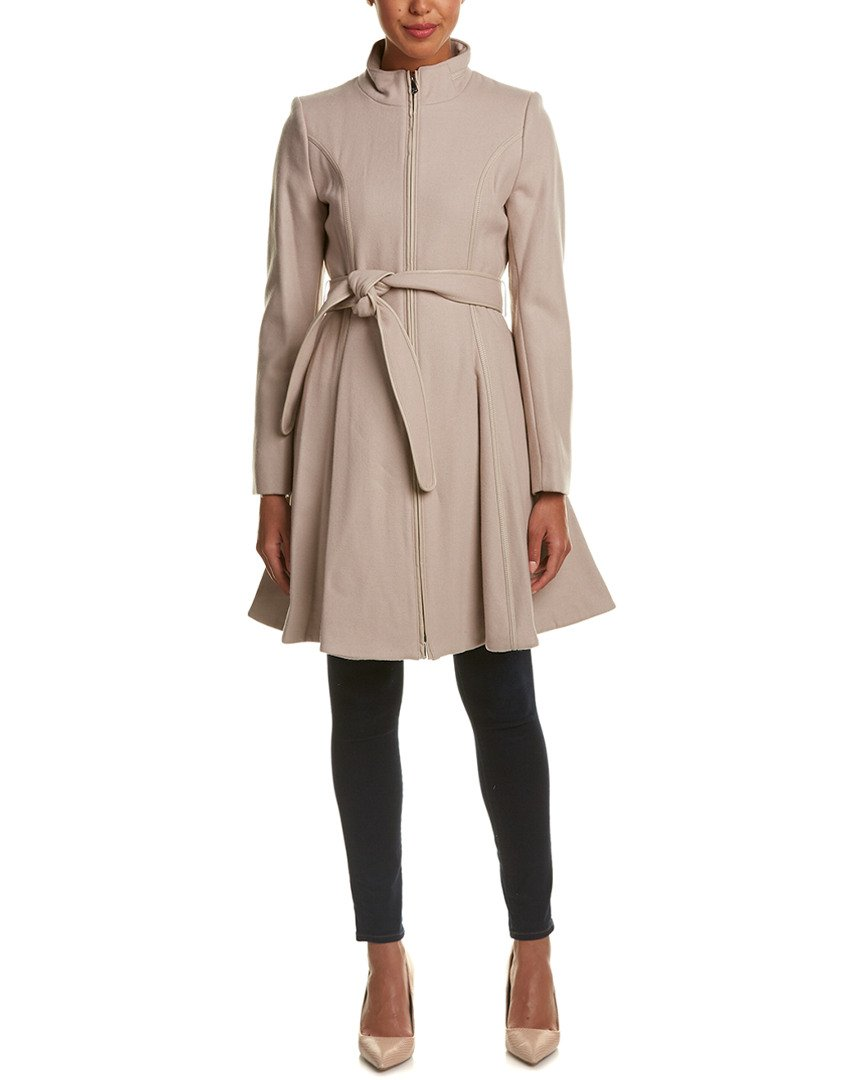 Dawn Levy Dl2 Womens Fergie Wool-Blend Coat, M