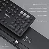 Multi-Device Bluetooth Keyboard, Jelly Comb Dual