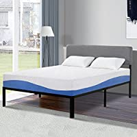 Olee Sleep F10FM01MOLVC Bed Mattress Conventional, Full, White/Blue