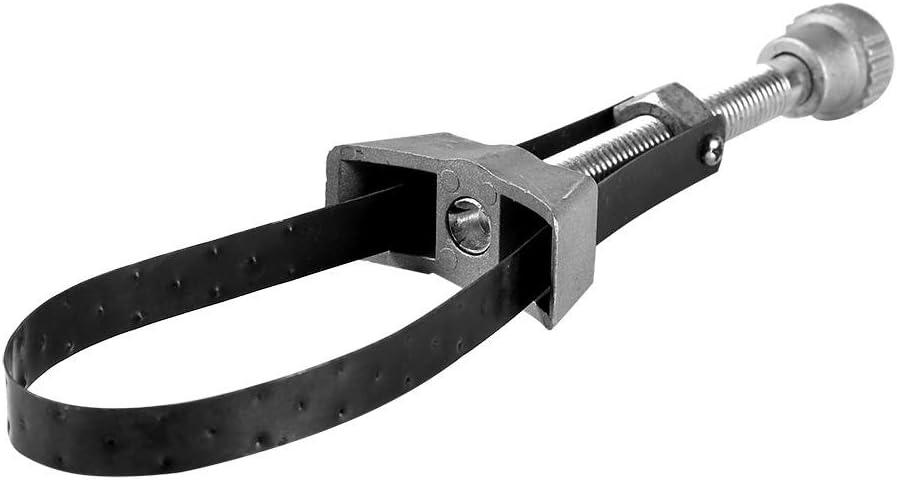 Cl/é /à Filtre /à Huile /à Sangle Keenso Kit dOutil de Suppression R/églable Cl/é de Courroie de Retrait 60mm /à 120mm