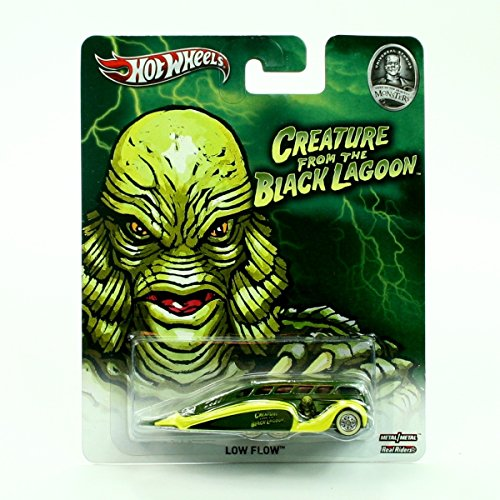 LOW FLOW THE CREATURE FROM THE BLACK LAGOON / UNIVERSAL STUDIOS MONSTERS Hot Wheels 2013 Pop Culture Series 1:64 Scale Die-Cast Vehicle