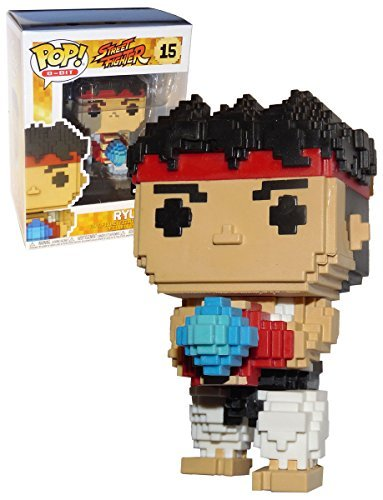 Funko Ryu - Street Fighter 8-Bit Pop! Vinyl Figure #15 GameS