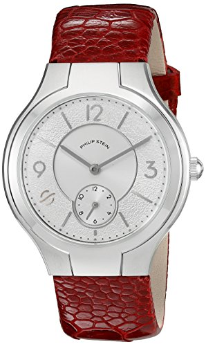 Philip Stein Women's 41-FSW-OBLOR Round Analog Display Japanese Quartz Red Watch