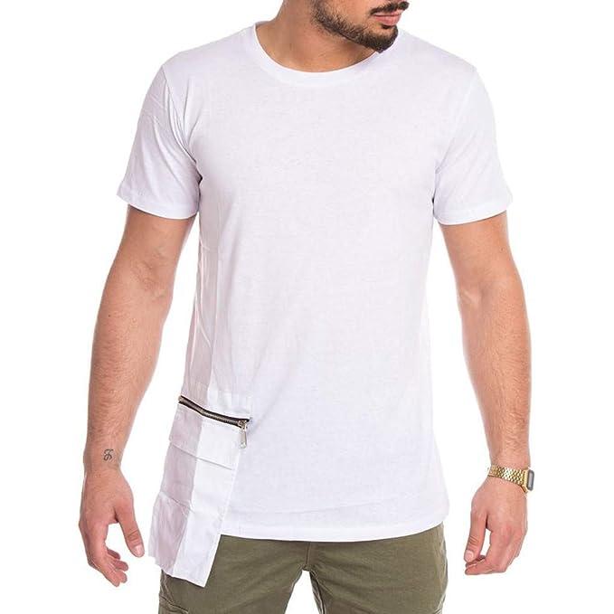 Camisa Hombre, YanHoo Hombres Verano Moda Personalidad ...