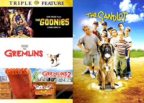 - The Goonies The SANDLOT Gremlins DVD Collection | Gremlins 2 Family 4 Movie Fun Set
