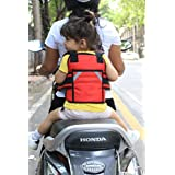 KIDS SAFETY TWO WHEELER SEAT BELT/FRONT STANDING AND...