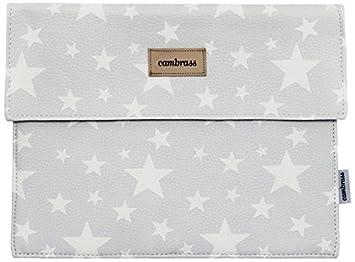 Mutterpass-Tasche,  Etoile grau