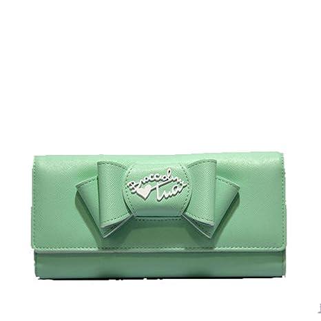 Portafoglio Donna Orizzontale con Patta   Braccialini Jolie   B9350-Verde