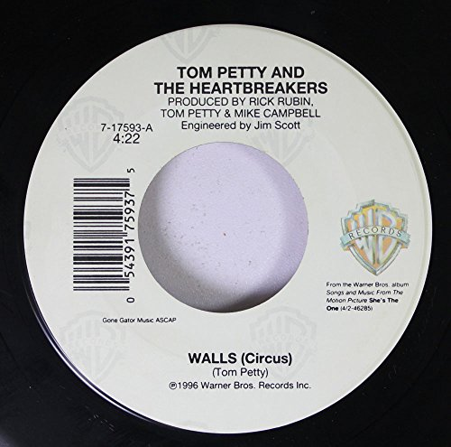 TOM PETTY AND THE HEARTBREAKERS 45 RPM WALLS (Circus) / WALLS (No.3)