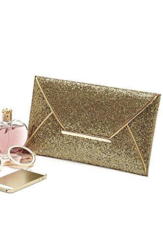 D'Embrayage de Enveloppe Vococal Bourse Soir Bal Du Lady Parti Sac Femmes Glitter Shimmer Sac Paillettes w18OBw