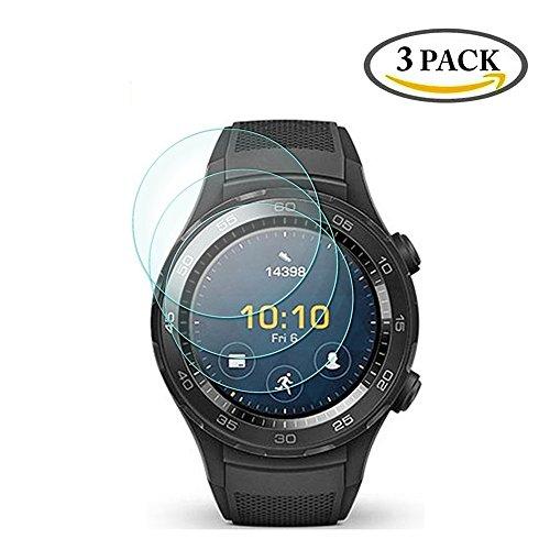 3 Pack Huawei Watch 2 / Watch 2 Sport Tempered Glass Screen