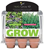 Buzzy 94676 6 Pot Assorted Herb Mini Greenhouse Grow Kit - Quantity 6