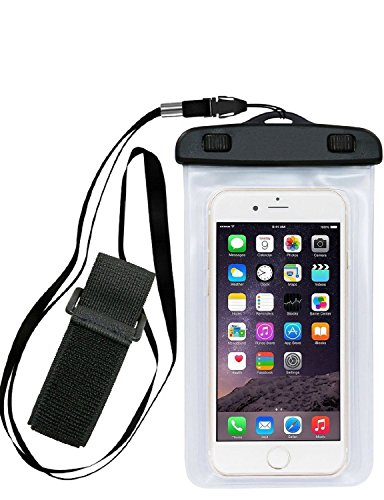 Waterproof Case, Waterproof Dry Bag with Armband Kehon For iPhone 7 Plus, (Sea Arm Vii Set)