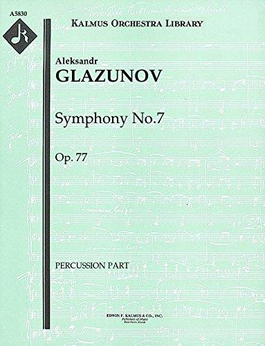Symphony No.7, Op.77: Percussion part (Qty 2) - 77 Percussion