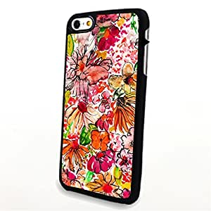 Generic Phone Accessories Matte Hard Plastic Phone Cases Blossom Pattern fit for Iphone 6 Plus