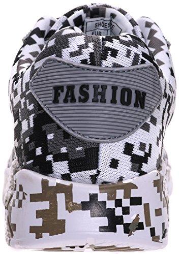 6 46 Sneaker BRONAX Dämpfung Herren mit Grau 40 Farben Air vXqq1F0na