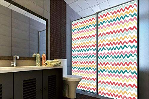 Damask Flush (Decorative Privacy Window Film, 35.43