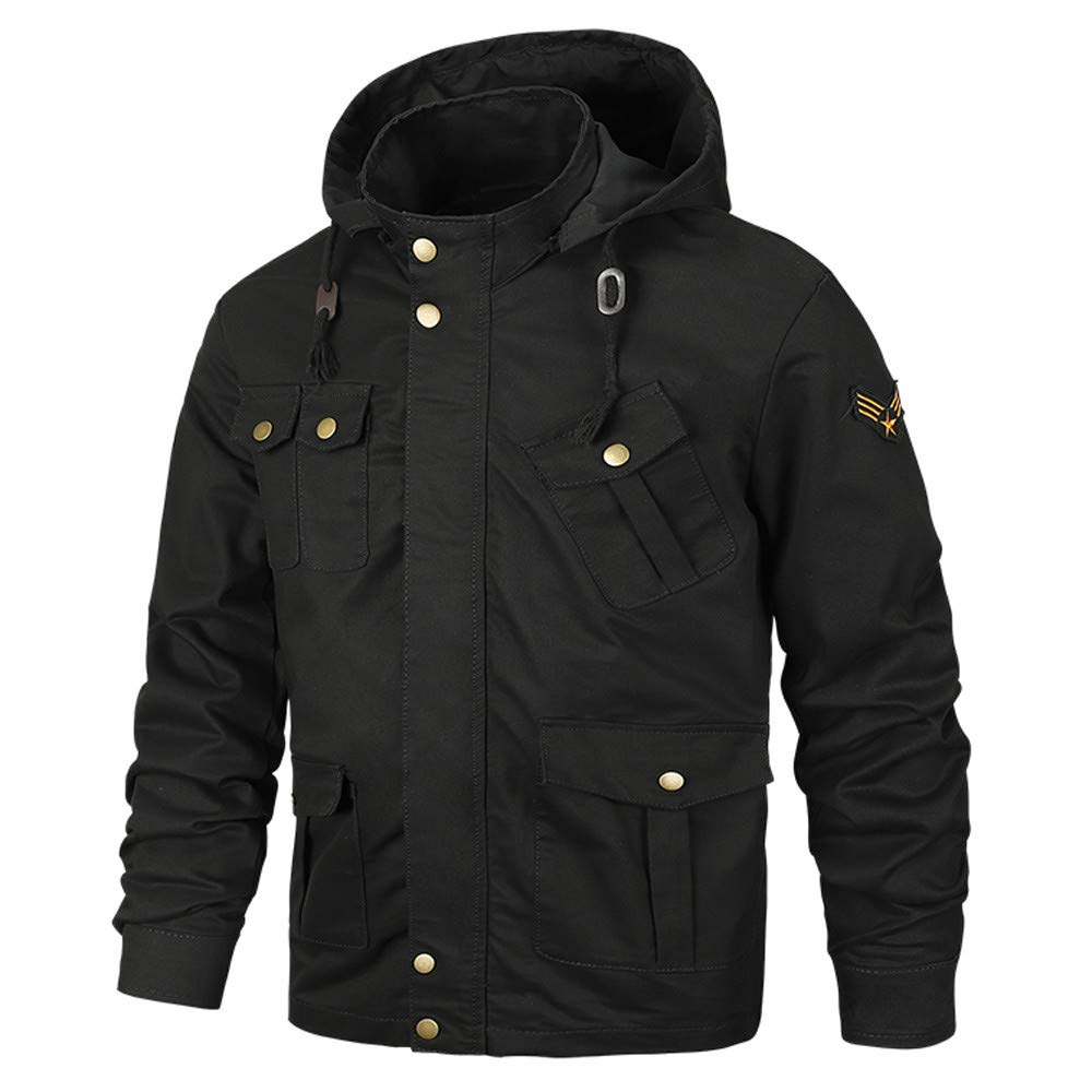 Goose Down Jacket Men Waterproof. Men's Autumn Winter Coats Casual Military Equipment Fashion Trend Jacket by Pandaie-Mens Product