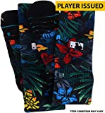 Carlos Correa Houston Astros Player-Issued Floral Socks from All-Star Workout Day on July 10, 2017 - Size L - Fanatics Authentic Certified
