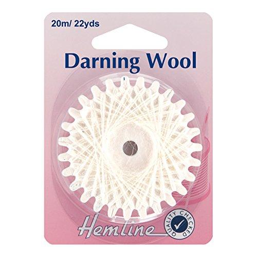 Hemline Darning Wool 20 Metres Shade (Quilted Shade)