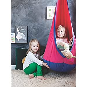 Hanging Swing Chair for Kids - Includes Hardware - Great as a sensory swing or therapy swing for autism