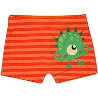 Shorts de Praia Monstrinhos Toddler, TipTop, Laranja, 3T