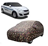 MotRoX Car Body Cover For Maruti Suzuki Swift Dzire with Side Mirror Pocket (Military Color)