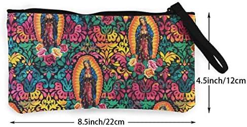 MODREACH - Monedero para Mujer y niña, diseño de la Virgen ...