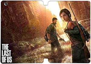 [PU del tirón del cuero] mini iPad funda,Ellie y Joel The Last of Us Naughty Dog [Theme] iPad mini 1 Mini 2 Mini 3 funda [Con Pantalla Protecto] KA5627